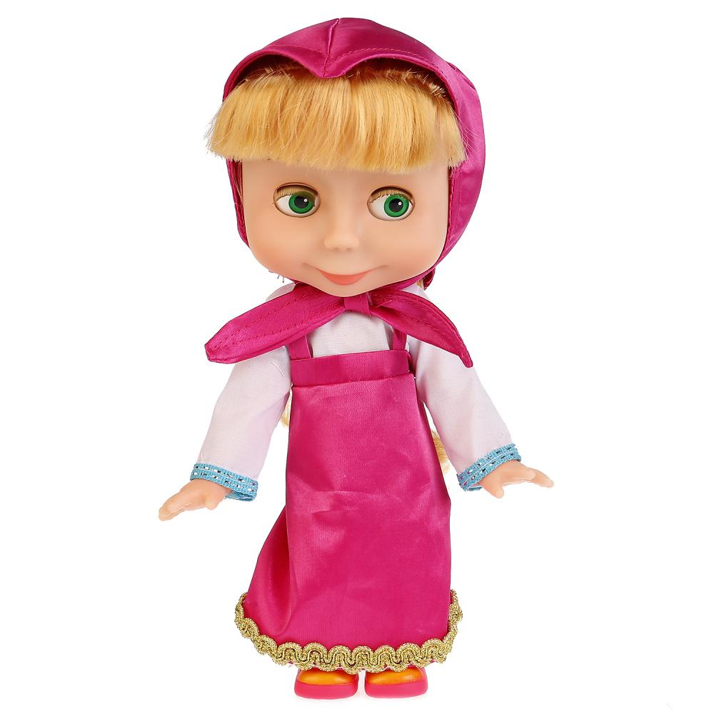 Купить Интерактивная кукла – Маша и Медведь. Маша, 25 см sim), Карапуз