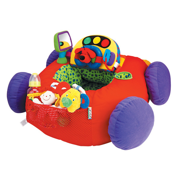 Автомобиль мягкий с интерактивной панельюРазвивающие игрушки K-Magic от KS Kids<br>Автомобиль мягкий с интерактивной панелью<br>