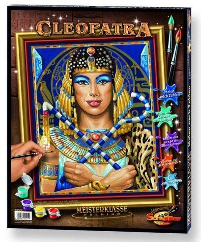 Клеопатра, 40*50 смРаскраски по номерам Schipper<br>Раскраска по номерам Клеопатра<br>Размер готовой работы: 40 х 50 см.<br>