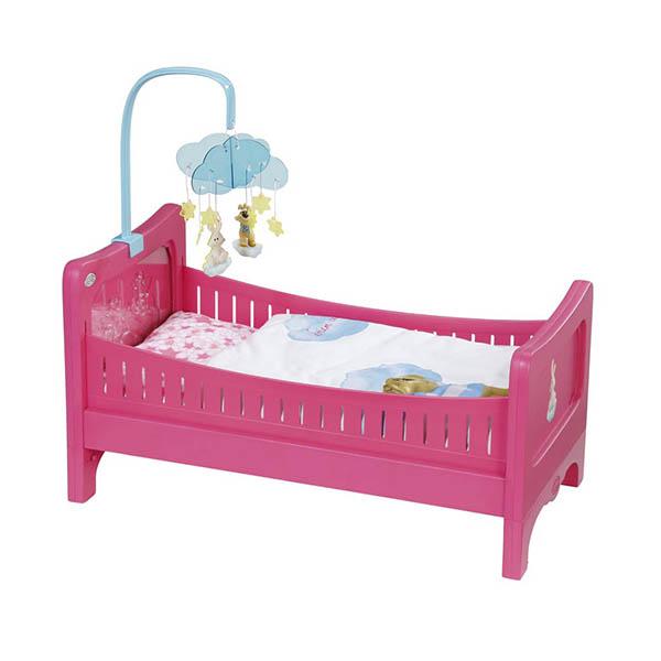 Игрушечная кровать для кукол Baby bornДетские кроватки для кукол<br>Игрушечная кровать для кукол Baby born<br>