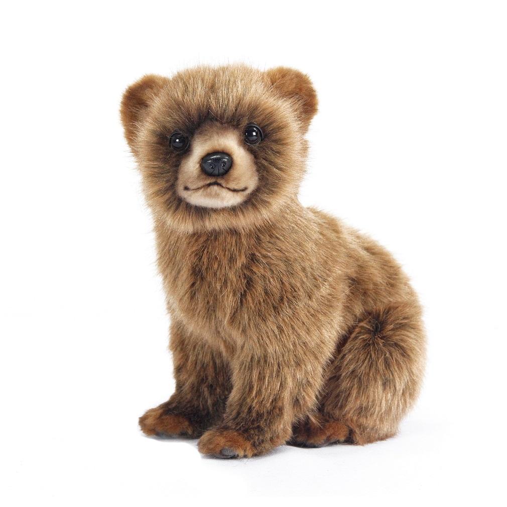 Мягкая игрушка - Медвежонок коричневый, 24 см.Медведи<br>Мягкая игрушка - Медвежонок коричневый, 24 см.<br>