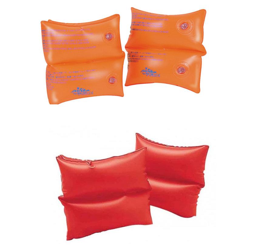 Нарукавники оранжевые или красные, в пакетеНарукавники и жилеты<br>Нарукавники оранжевые или красные, в пакете<br>