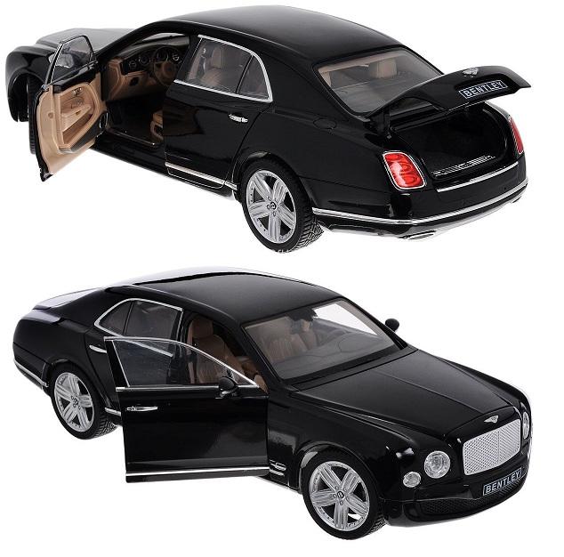 Bentley Mulsanne металлическая коллекционная модель, масштаб 1:18Bentley<br>Bentley Mulsanne металлическая коллекционная модель, масштаб 1:18<br>