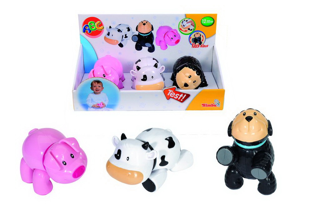 Погремушка-трещетка животныеДетские погремушки и подвесные игрушки на кроватку<br>Погремушка-трещетка животные<br>