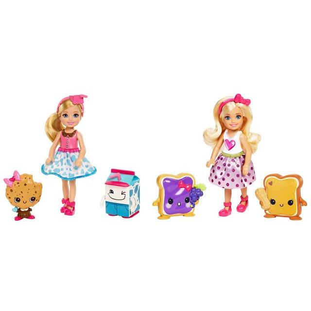 Набор Barbie - Челси и сладости, 2 видаКуклы Barbie (Барби)<br>Набор Barbie - Челси и сладости, 2 вида<br>
