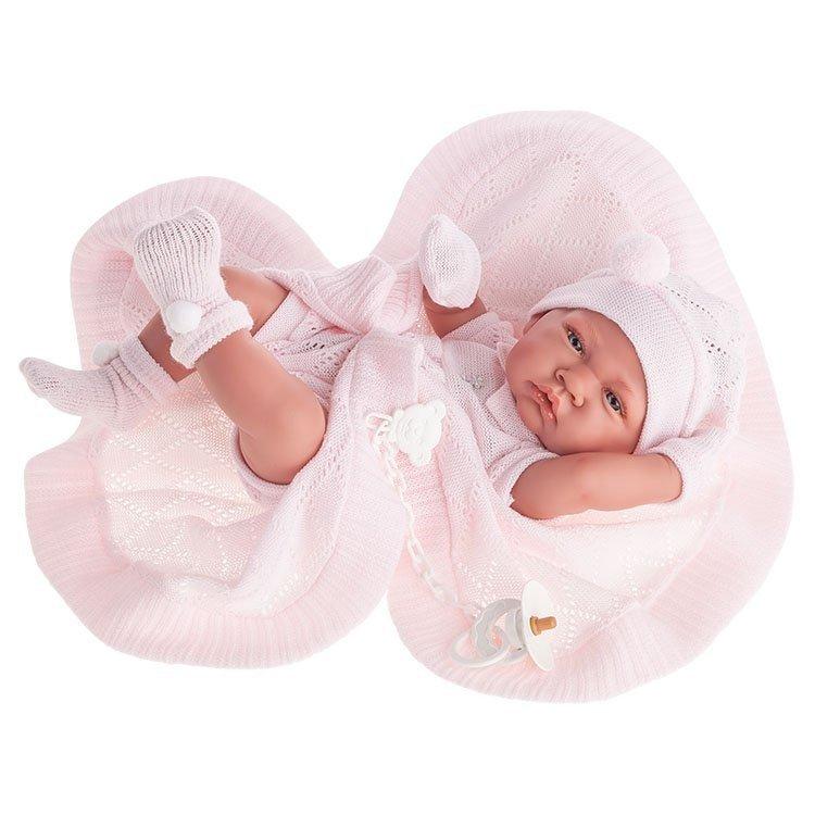 Купить Кукла - младенец девочка Тони, в розовом, 42 см., Antonio Juan Munecas