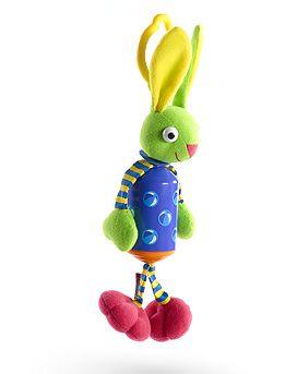Подвеска для дуги  Зайчик  - Детские погремушки и подвесные игрушки на кроватку, артикул: 6098