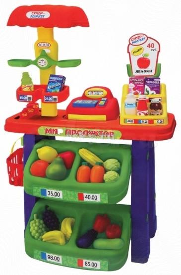 Игровой набор «Супермаркет»Детская игрушка Касса. Магазин. Супермаркет<br>Игровой набор «Супермаркет»<br>