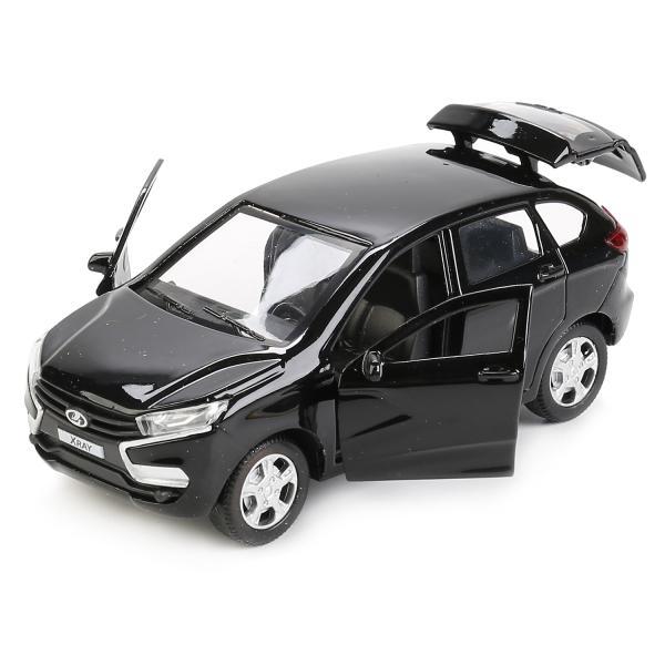 Модель металлическая инерционная LADA XRAY, 12 см., открываются двери и багажникLADA<br>Модель металлическая инерционная LADA XRAY, 12 см., открываются двери и багажник<br>