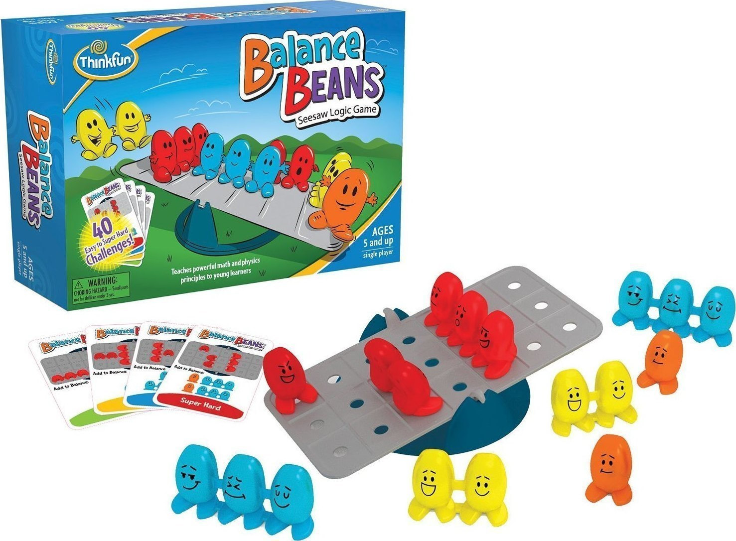 Купить Настольная игра - Бобы в равновесии. Поймай баланс, Thinkfun
