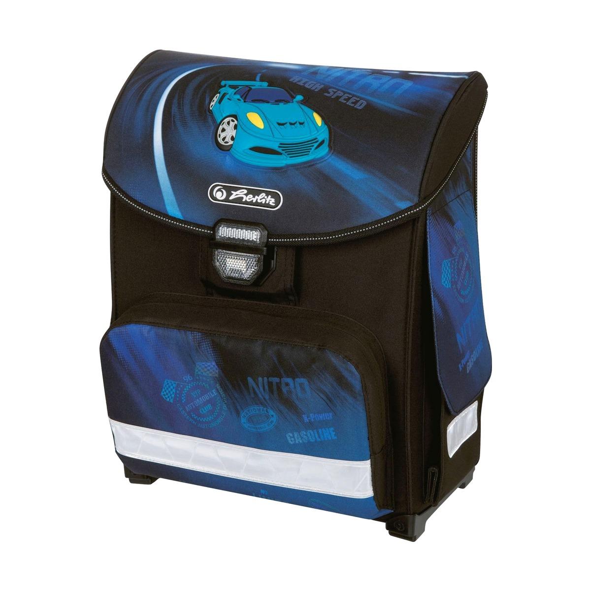 Школьный ранец Herlitz Smart - Nitro, без наполненияШкольные рюкзаки<br>Школьный ранец Herlitz Smart - Nitro, без наполнения<br>