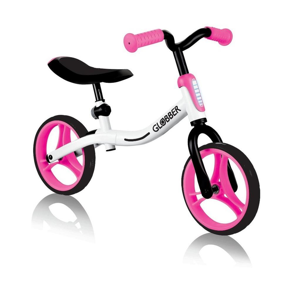 Купить Беговел Globber Go Bike, бело-розовый
