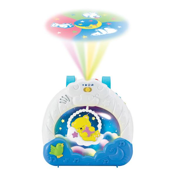 Ночник-проектор, свет и звук - Музыкальные ночники и проекторы, артикул: 122483