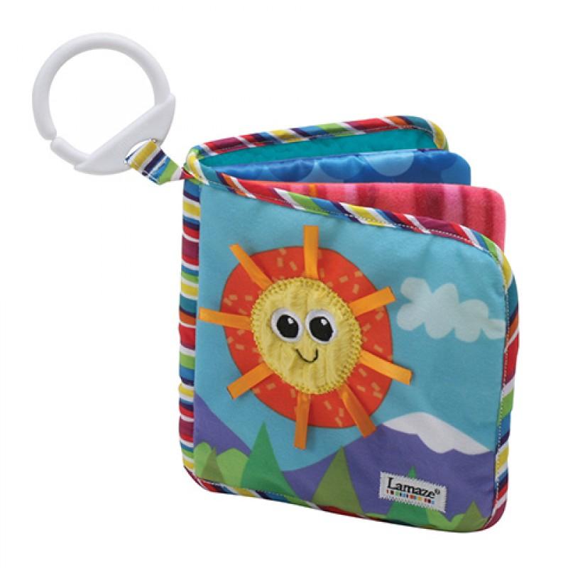 Книжка-шуршалка - Первые открытияДетские погремушки и подвесные игрушки на кроватку<br>Книжка-шуршалка - Первые открытия<br>