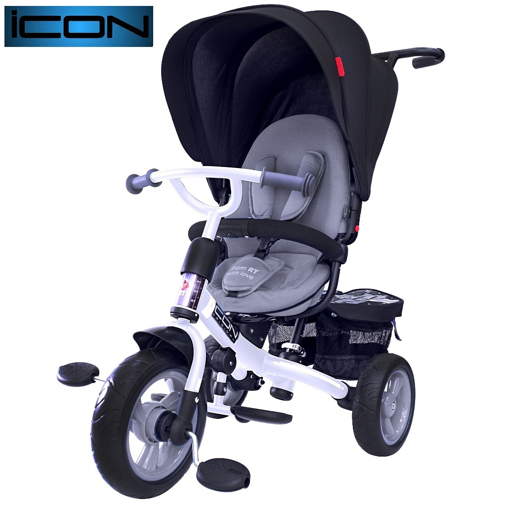 Велосипед RT ICON evoque NEW Stroller by Natali Prigaro onyx