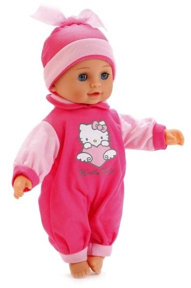 Озвученная кукла Карапуз - Hello Kitty, 31 см, закрываются глазаКуклы Карапуз<br>Озвученная кукла Карапуз - Hello Kitty, 31 см, закрываются глаза<br>