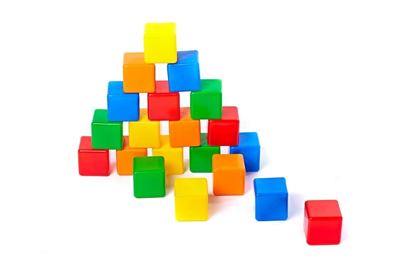 Набор кубиков-2, 20 штукКонструкторы других производителей<br>Набор кубиков-2, 20 штук<br>