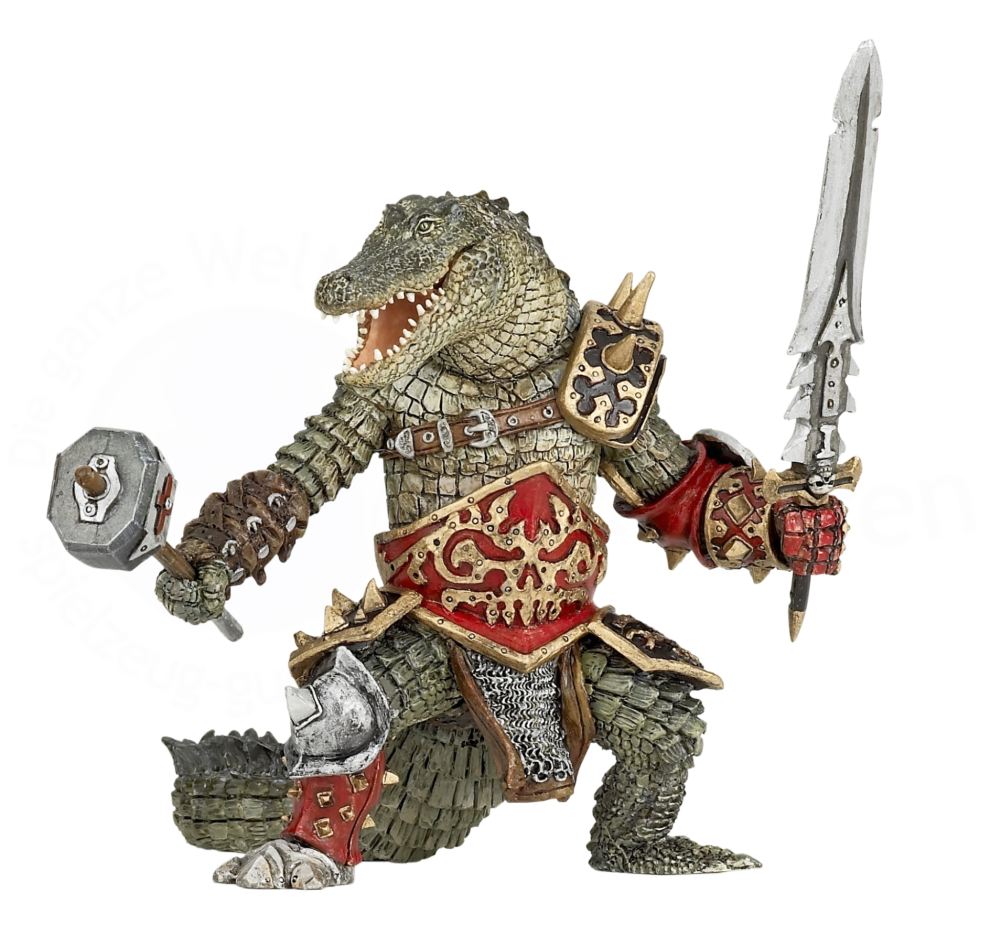 Фигурка Человек-крокодил фото
