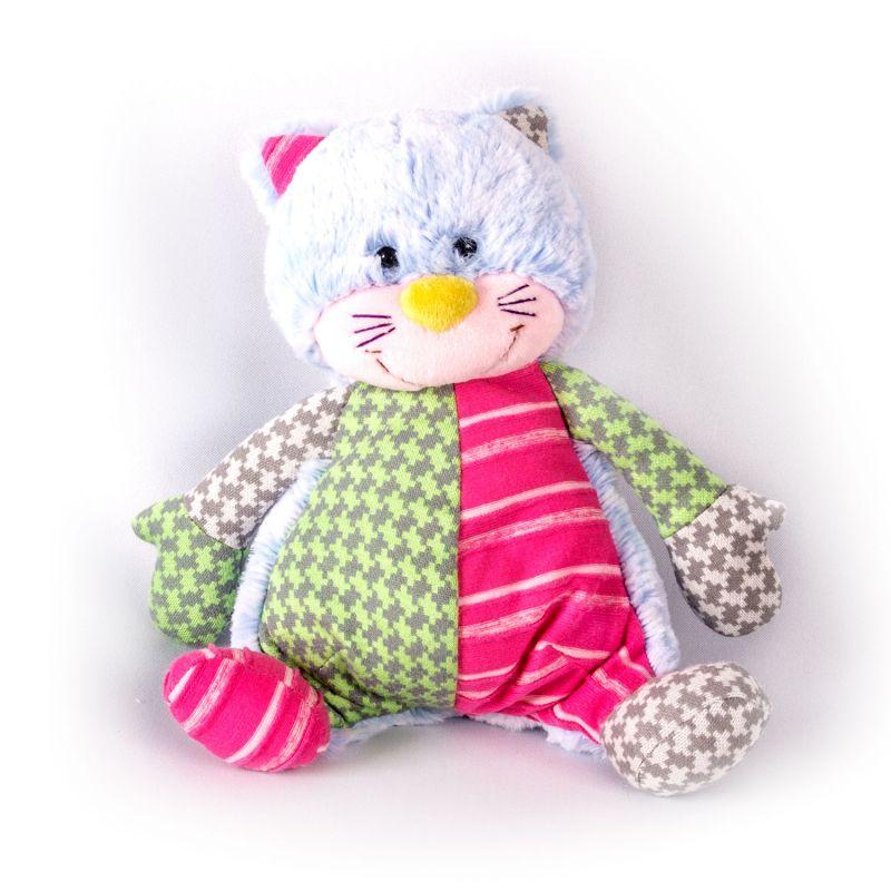 Купить Мягкая игрушка - Котик цветной, 21 см, Gulliver