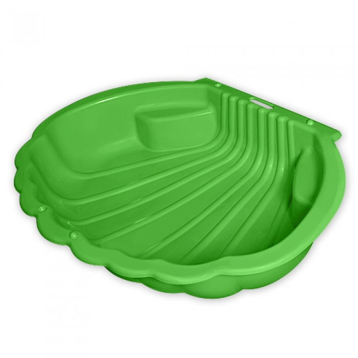 Песочница  ракушка одинарная зеленая - Детские песочницы, артикул: 166308