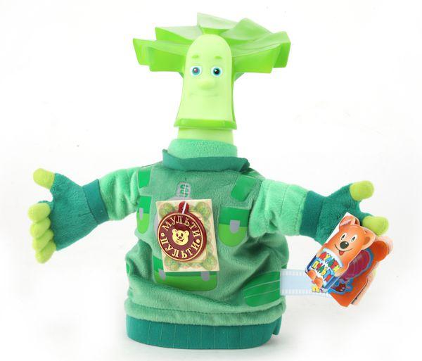 Мягкая игрушка – кукла на руку Папус из серии Фиксики, 25 см. - Детский кукольный театр , артикул: 142374
