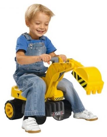 Машинка Big Maxi DiggerИгрушечные тракторы<br>Машинка Big Maxi Digger<br>