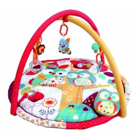 Коврик развивающий игровой Додо и Кики, Merx Limited, MXR0074Детские развивающие коврики для новорожденных<br>Коврик развивающий игровой Додо и Кики, Merx Limited, MXR0074<br>