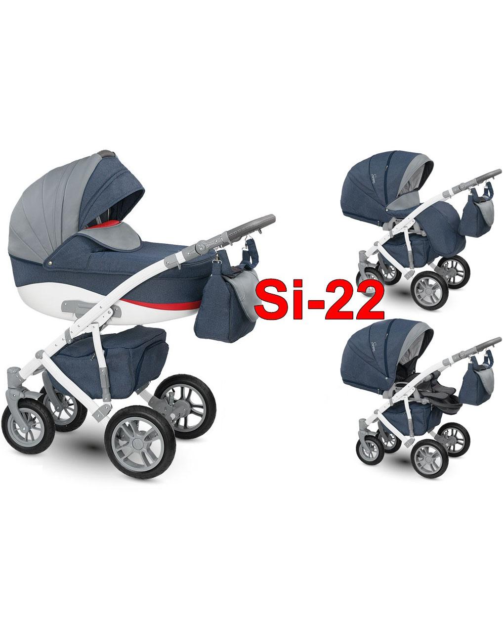 Детская коляска Camarelo Sirion 2 в 1 - Si-22Детские коляски 2 в 1<br>Детская коляска Camarelo Sirion 2 в 1 - Si-22<br>