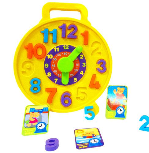 Часики – пазлыРазвивающие игрушки Simba Baby<br><br>
