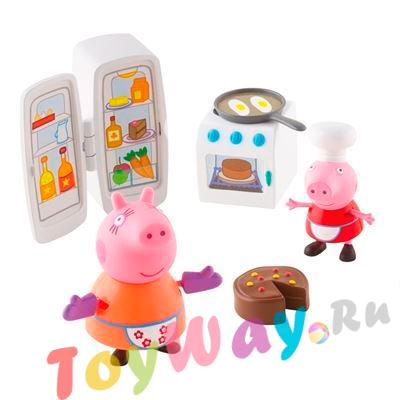 Купить Игровой набор – Кухня Пеппы из серии Свинка Пеппа, Росмэн