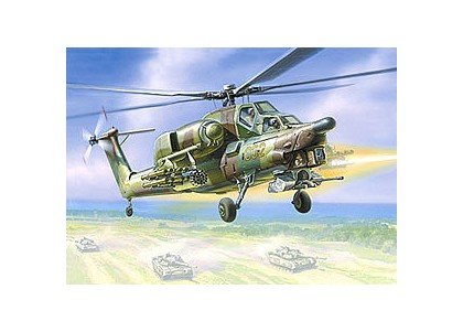 Звезда Модель для склеивания - Вертолёт МИ-28А