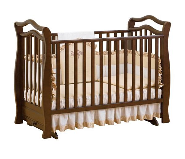Кроватка для новорожденных Magico, карамельДетские кровати и мягкая мебель<br>Кроватка для новорожденных Magico, карамель<br>