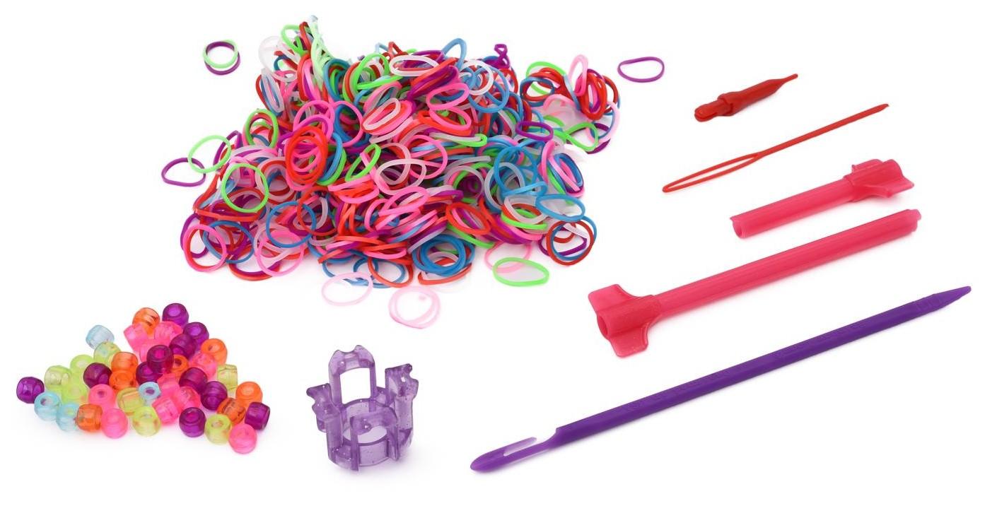 Набор для плетения украшений для волос Rainbow Loom – Хэа Лум Син