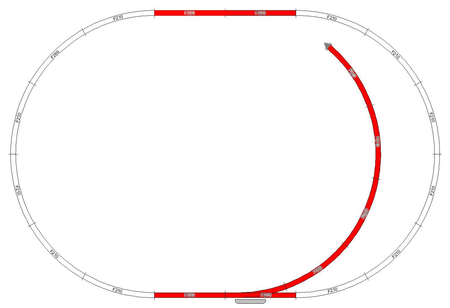 Набор рельс для наборов из серии Mehano №12Детская железная дорога<br>Набор рельс для наборов из серии Mehano №12<br>