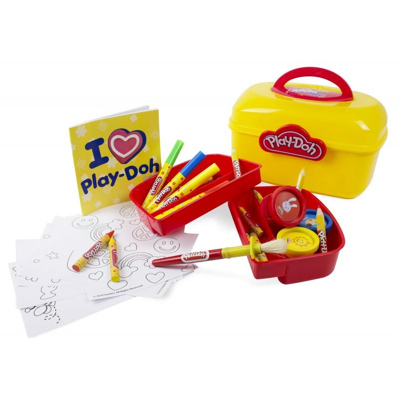 Набор Play doh - Сундучок художникаПластилин Play-Doh<br>Набор Play doh - Сундучок художника<br>