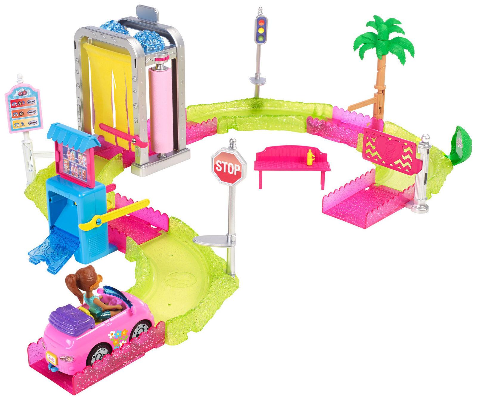 Игровой набор Барби в движении - Мойка машиныКуклы Barbie (Барби)<br>Игровой набор Барби в движении - Мойка машины<br>