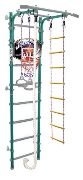 Шведская стенка Midzumi Niji Kabe Basketball Shield, цвет - ментоловый сорбет фото