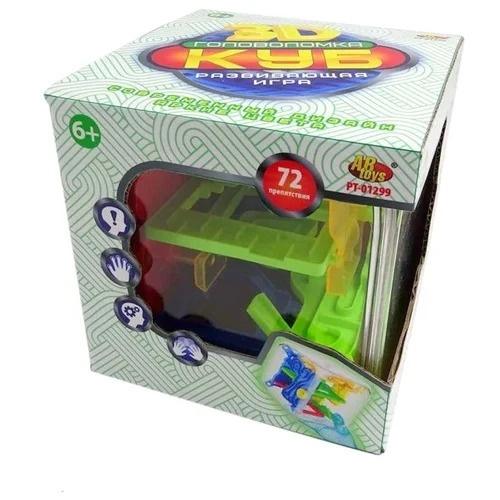 Купить Куб интеллектуальный 3D, 72 барьера, в коробке, ABtoys