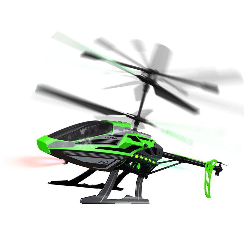 Трехканальный вертолет на р/у, 46 см, зеленый