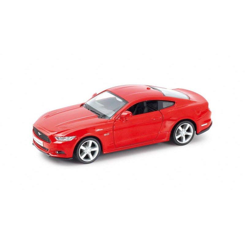 Металлическая инерционная машина RMZ City - Ford Mustang 2015, 1:32, 2 цветаFord<br>Металлическая инерционная машина RMZ City - Ford Mustang 2015, 1:32, 2 цвета<br>