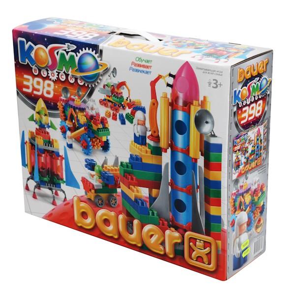 Конструктор серия «Космос», 398 элементов - Конструкторы Bauer Кроха (для малышей), артикул: 127406