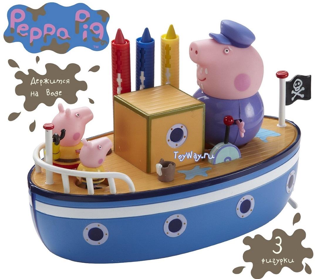 Купить Peppa Pig. Морское приключение, Toy Options
