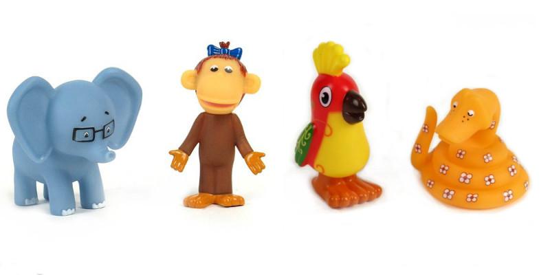Набор для купания «38 попугаев»Игрушки для ванной<br>Набор для купания «38 попугаев»<br>