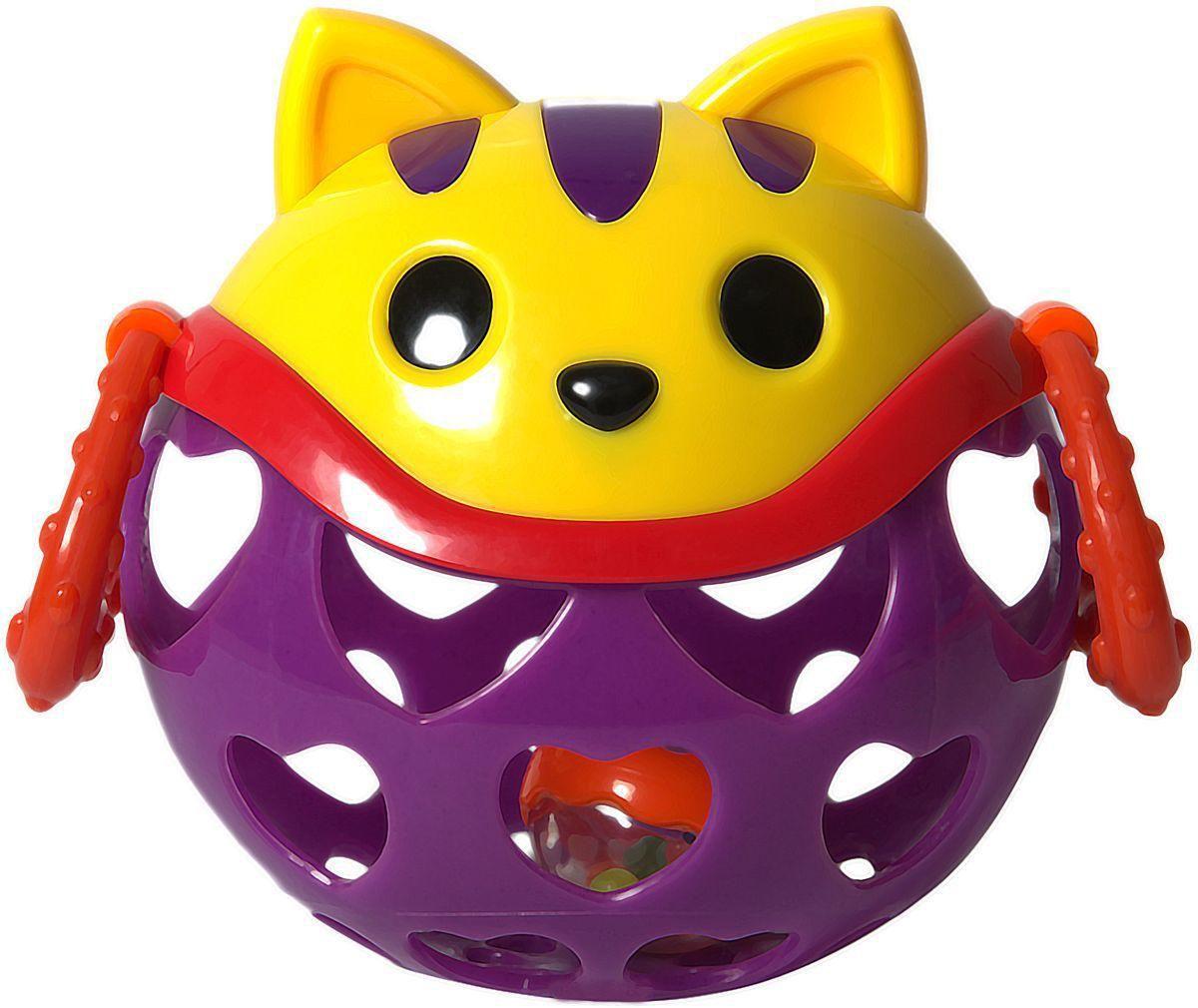 Игрушка-неразбивайка КошкаДетские погремушки и подвесные игрушки на кроватку<br>Игрушка-неразбивайка Кошка<br>