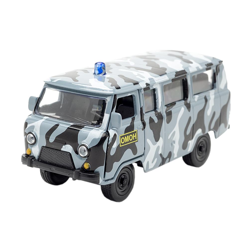 Машина металлическая инерционная - Уаз 39625 – ОМОНУАЗ<br>Машина металлическая инерционная - Уаз 39625 – ОМОН<br>