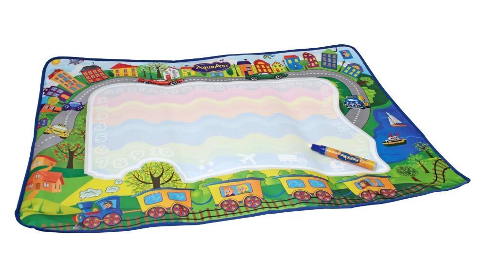 Купить Коврик для рисования водным маркером AquaArt, цвет зеленый, 1TOY