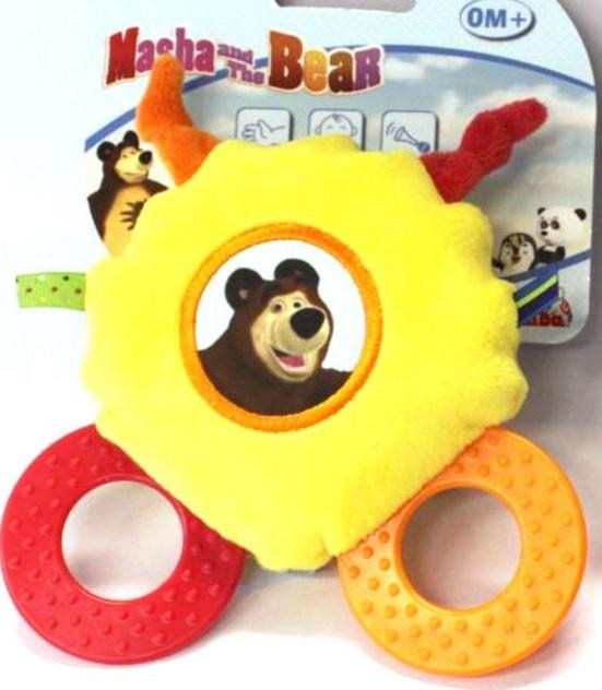 Игрушка со звуковым эффектом «Маша и Медведь», 2 видаДетские погремушки и подвесные игрушки на кроватку<br>Игрушка со звуковым эффектом «Маша и Медведь», 2 вида<br>