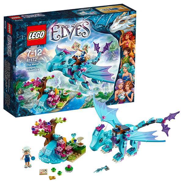 Лего эльфы дракон