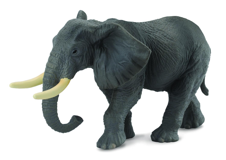 Фигурка - Слон африканский, размер XL 14 см.Дикая природа (Wildlife)<br>Фигурка - Слон африканский, размер XL 14 см.<br>