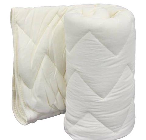 Одеяло для новорожденных, силиконизированное волокно, кремовоеДетское постельное белье<br>Одеяло для новорожденных, силиконизированное волокно, кремовое<br>